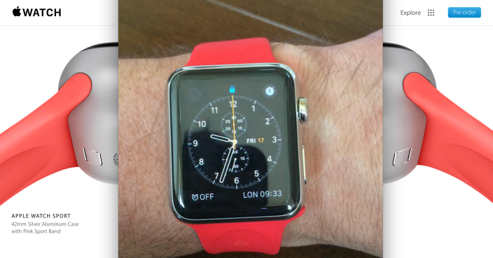 Apple Watch - pink or red?