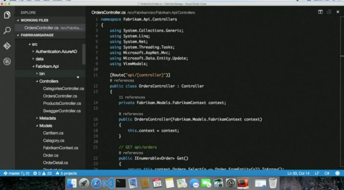 Visual Studio Code for Mac