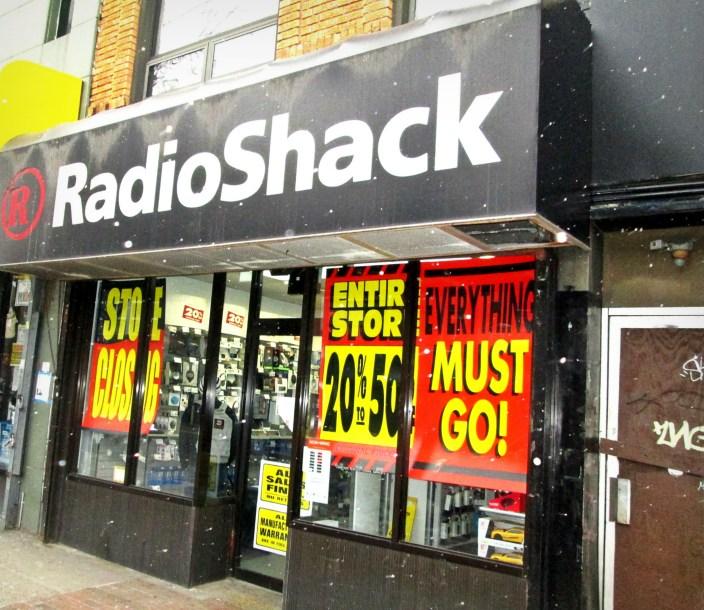 RadioShack close