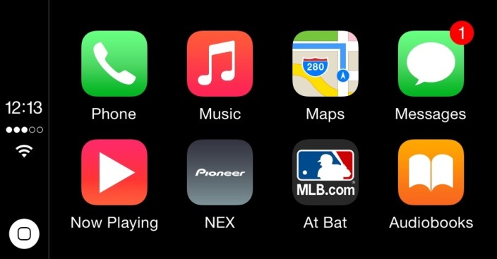 MLB At Bat CarPlay