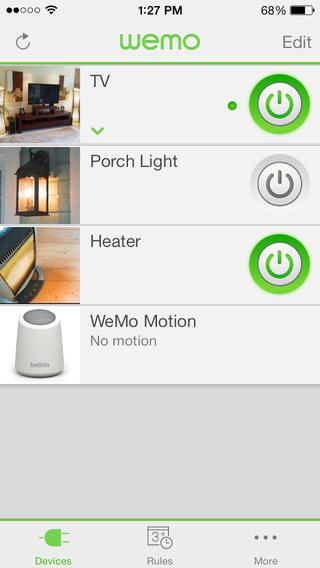Wemo-app