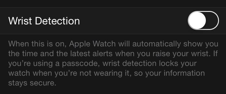 wrist-detection