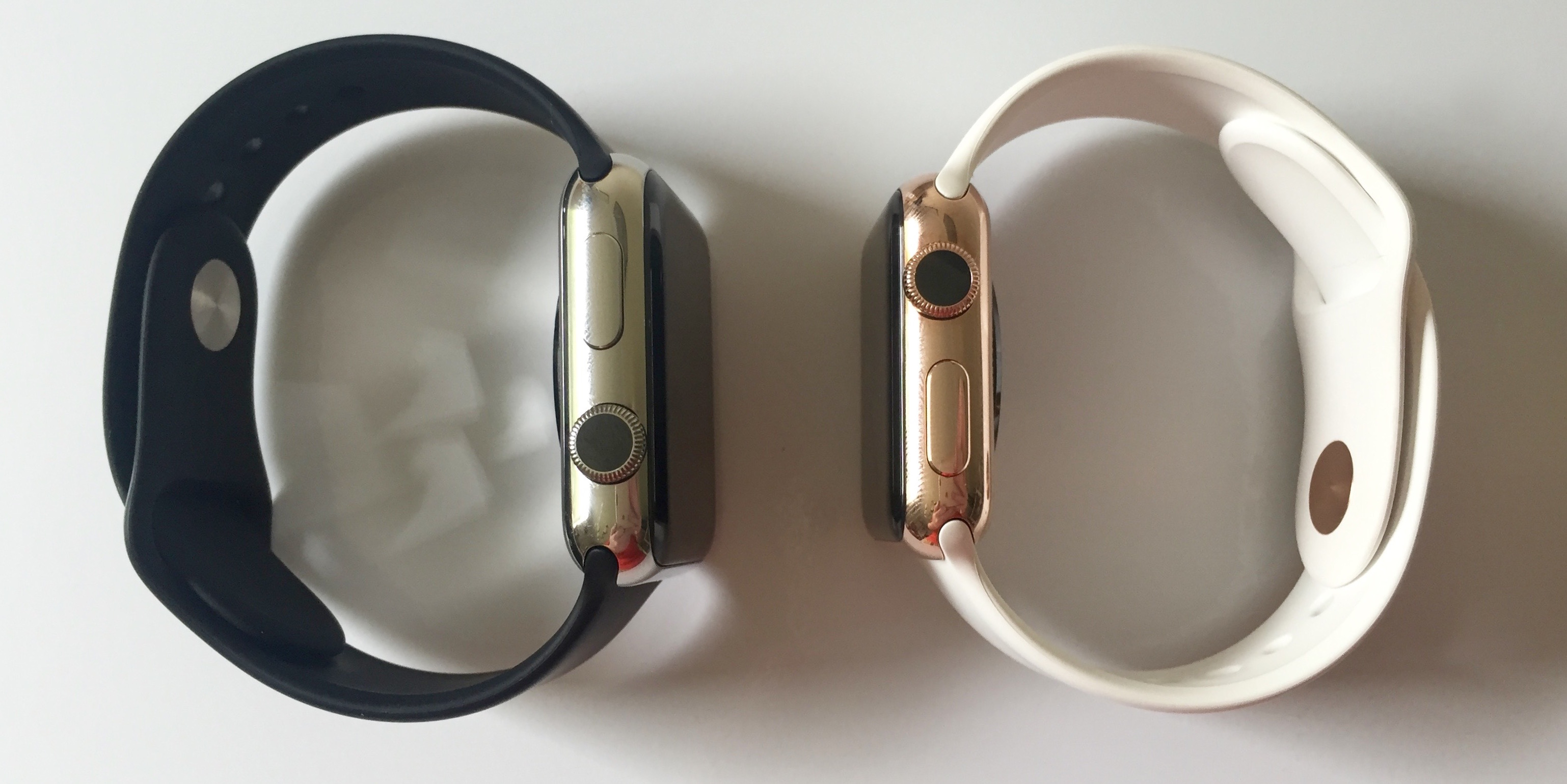 Apple Watch WatchPlate rose gold