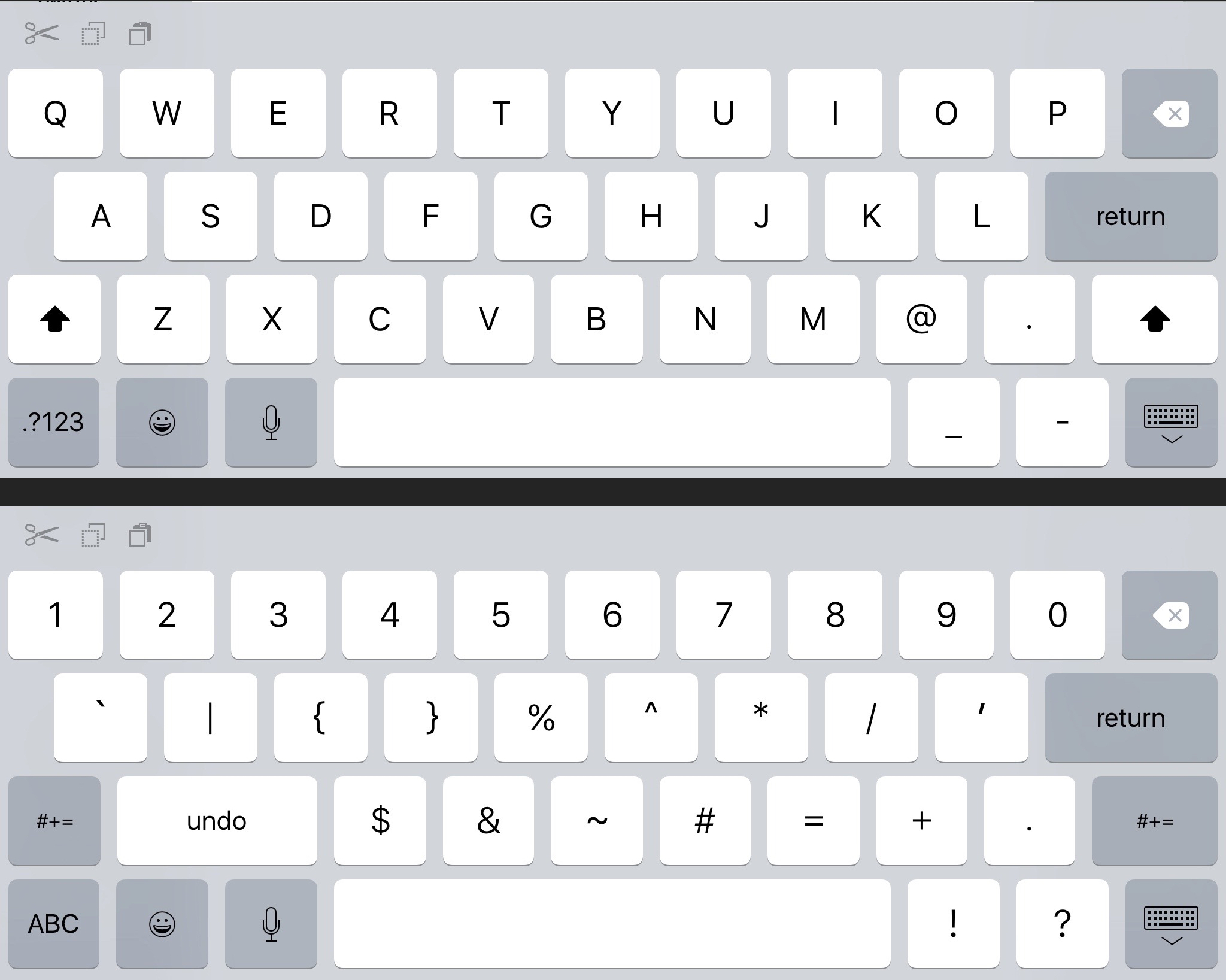 how to make keyboard bigger on iphone ios 9 keyboard adds amp symbols at bigger screen 20161