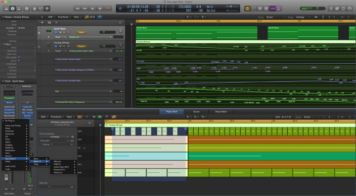 Editing Features-Overall-The Logic Pros