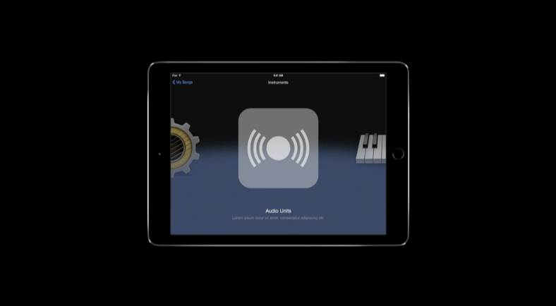 Audio production on iOS 9 is vastly improved as apps get