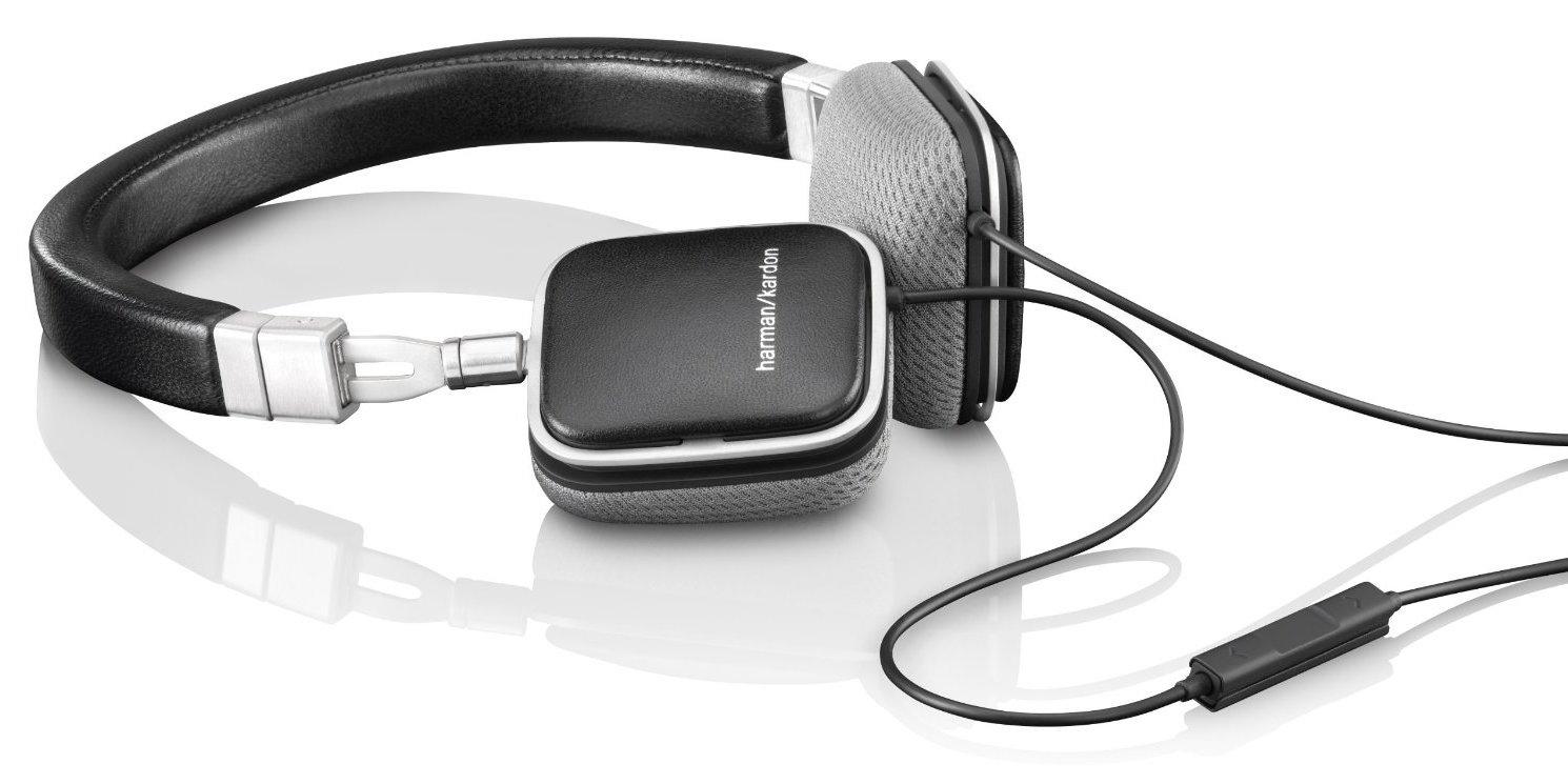 Harman Kardon SOHOi Premium On-Ear Headphones in black or white-sale-01