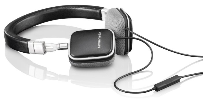Harman Kardon SOHOi Premium On-Ear Headphones in black or white-sale-01