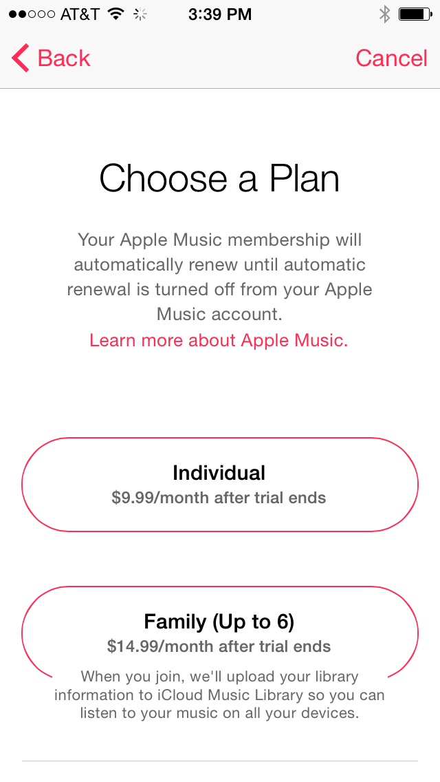 Apple Music sign up pages appearing in iOS 8 4 betas - 9to5Mac