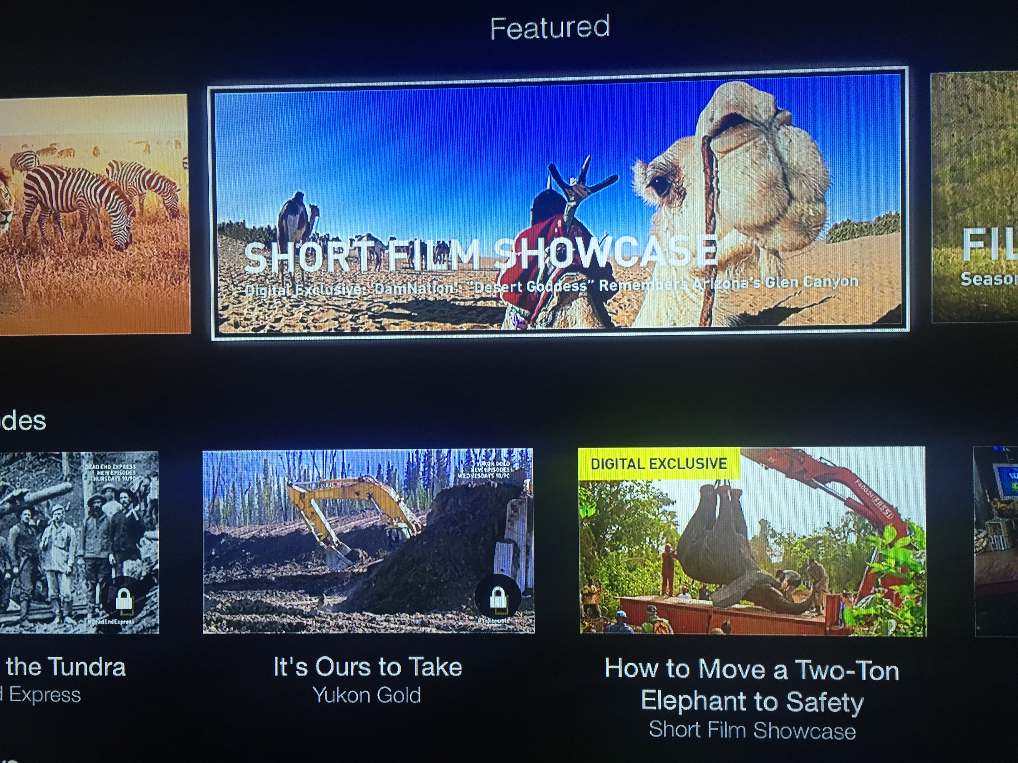 Apple TV gains 'NatGeo TV' channel from National Geographic & Nat