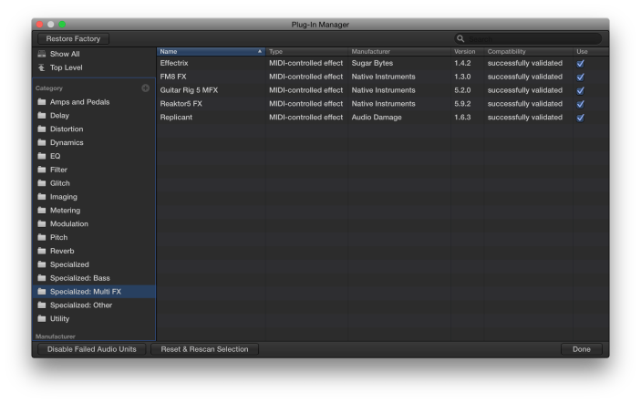 Plug-In Manager-Nest-The Logic Pros