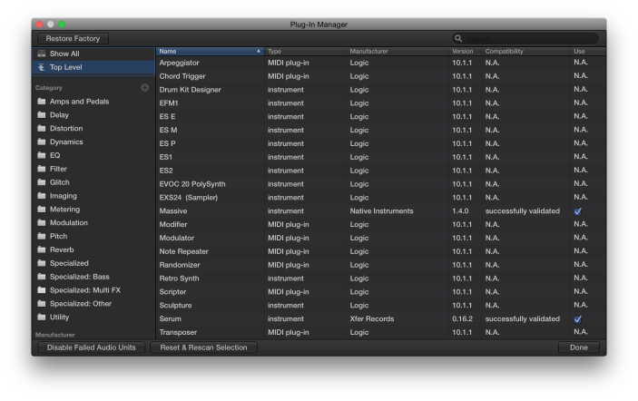 Plug-In Manager-Top-Level-2-The Logic Pros