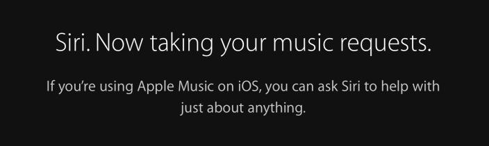 Siri Apple Music