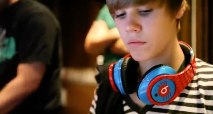 Monster Beats by Dre Justin Bieber