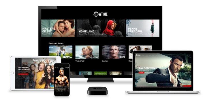 Showtime Apple TV iPhone iPad Mac