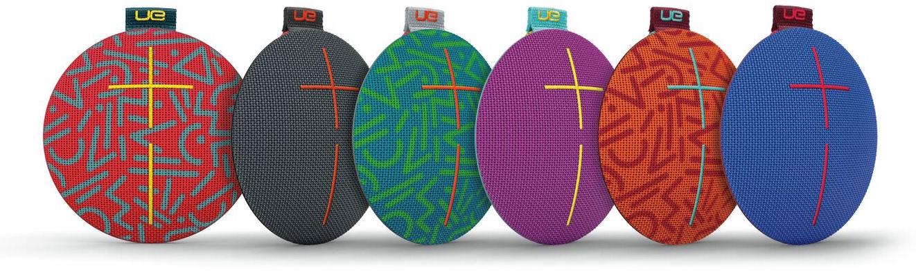 Ultimate Ears Roll is a tough, wearable speaker that hangs