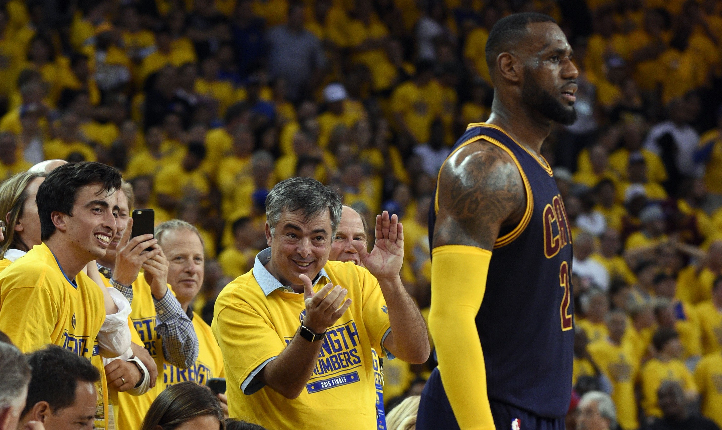 Eddy Cue LeBron James