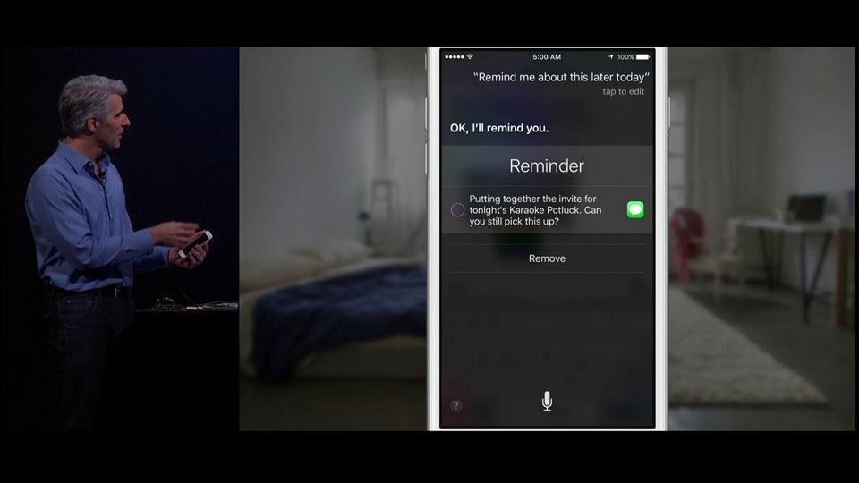 Apple announces iOS 9 with Proactive Spotlight, new Siri