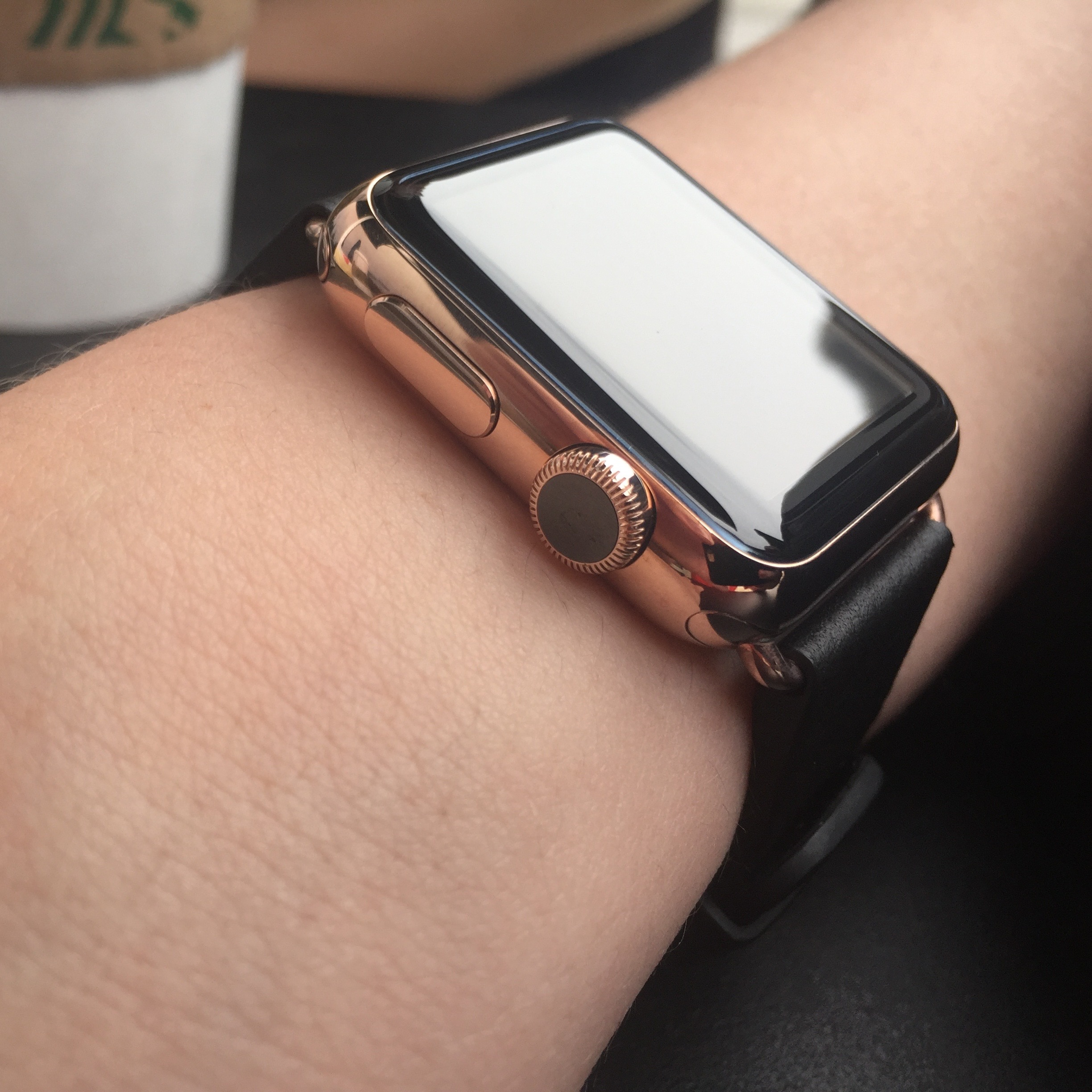 Hands On Watchplate S Rose Gold Treatment Transforms Steel Apple Watch Classic Buckle Sport Band Gallery 9to5mac