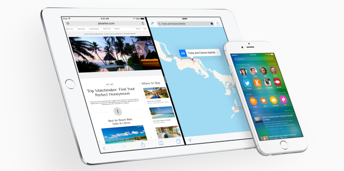 iOS 9 iPad iPhone