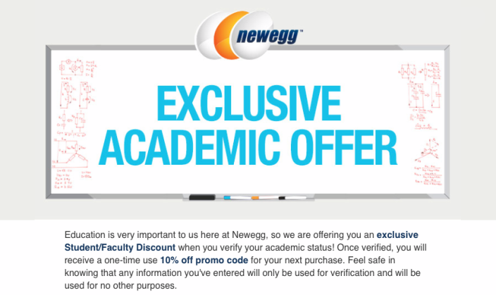 newegg-edu-email-deal