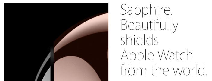 Apple Watch sapphire