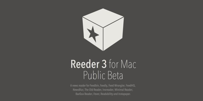 Reeder 3 public beta