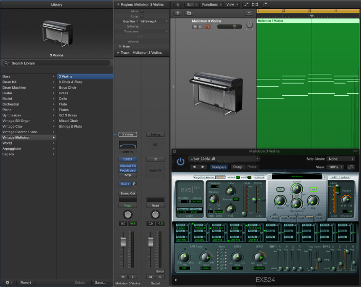 The Logic Pros: How to create Retro Synth patches with