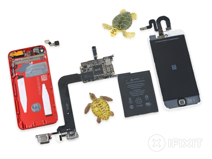 iFixit iPod touch 6th gen teardown