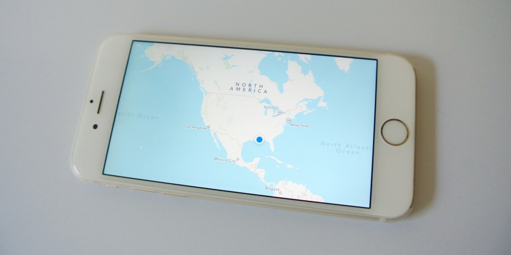 iPhone 6 Apple Maps North America