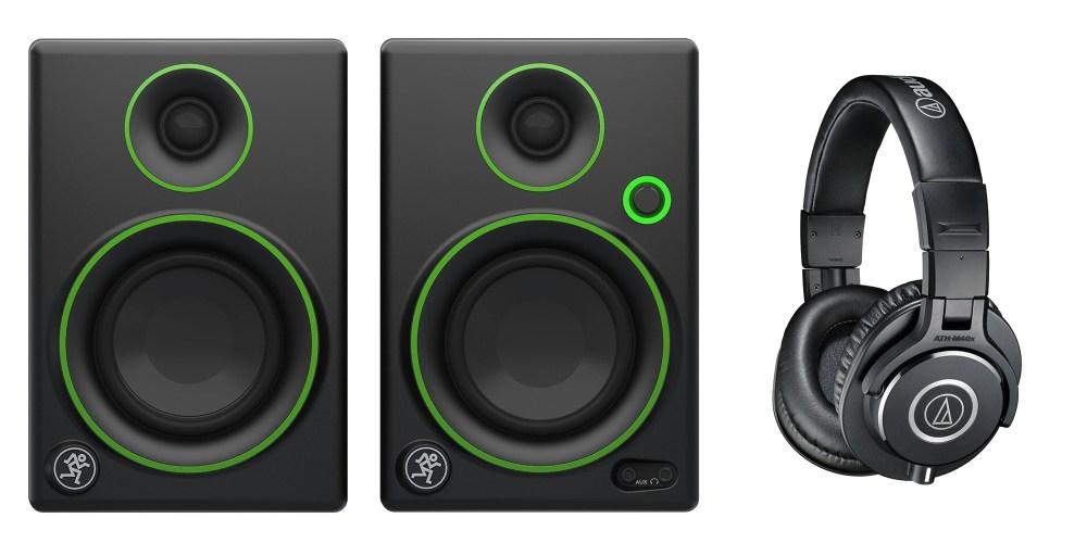 mackie-monitors-audio-technica-headphones (1)