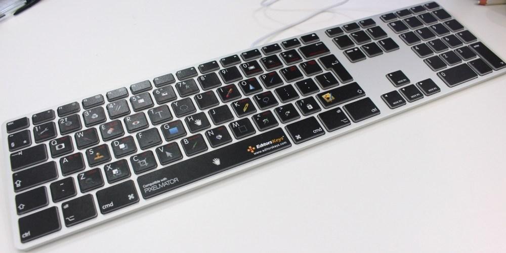 pixelmator keyboard main