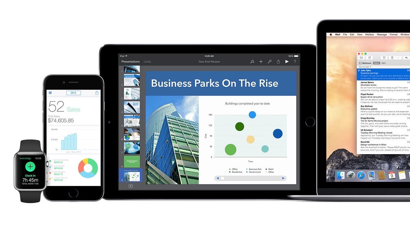 Apple enterprise 16-9 business