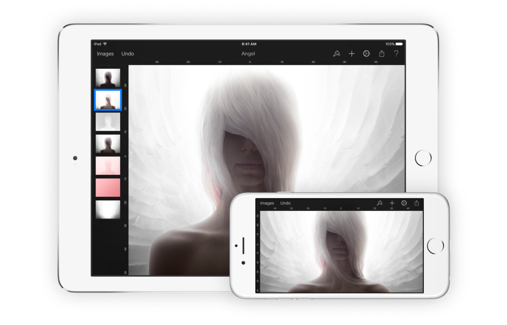 1. Pixelmator for iOS 9