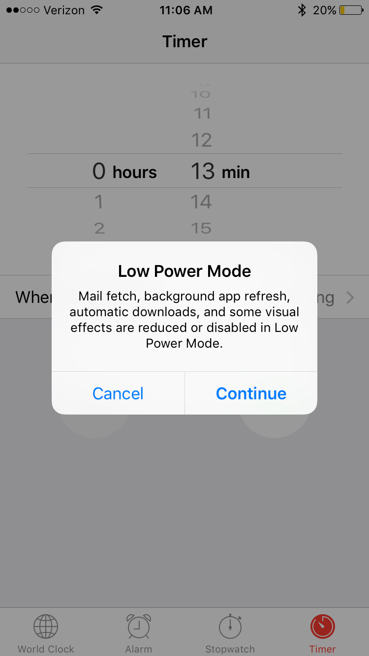 iOS 9 How-To: Put your iPhone in Low Power Mode & extend