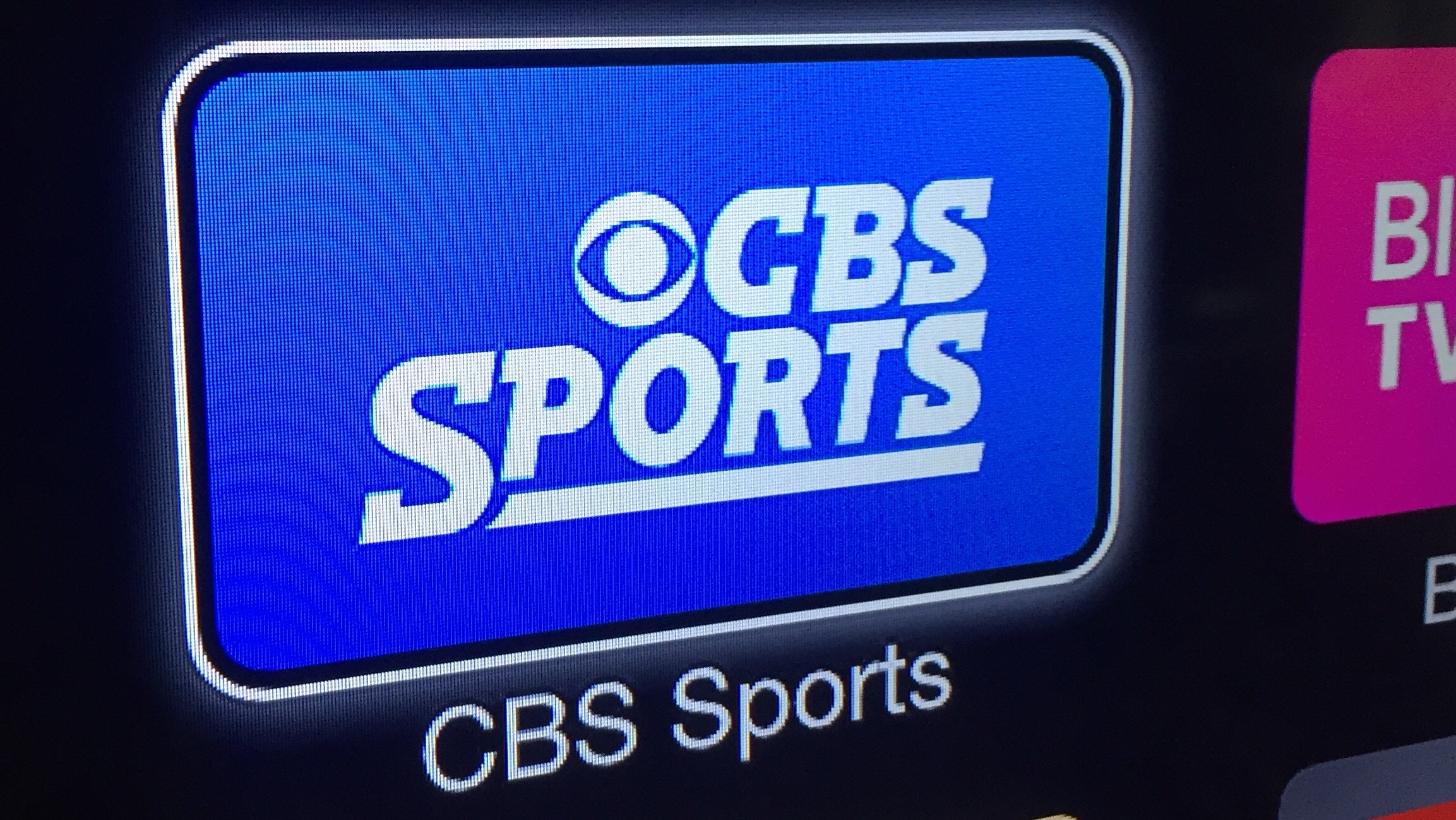 CBS Sports Apple TV 16-9