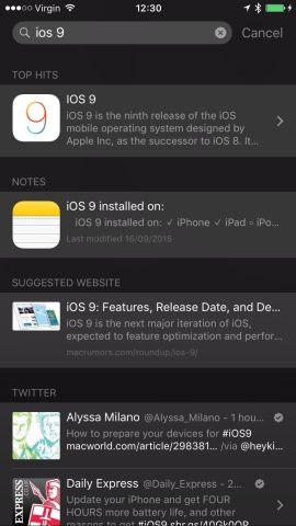 Apple releases iOS 9 for iPhone, iPad and iPod touch — here's a full