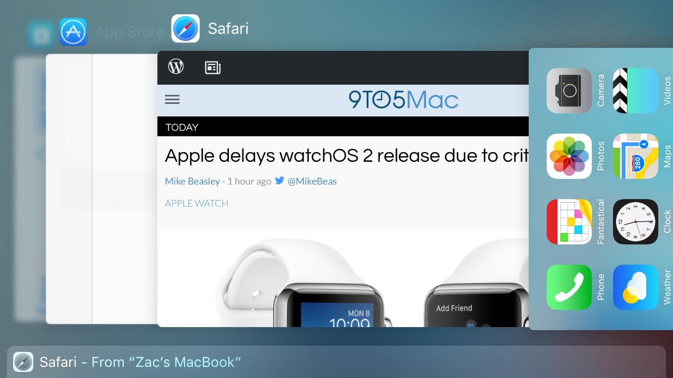 iOS 9 iPhone 16-9