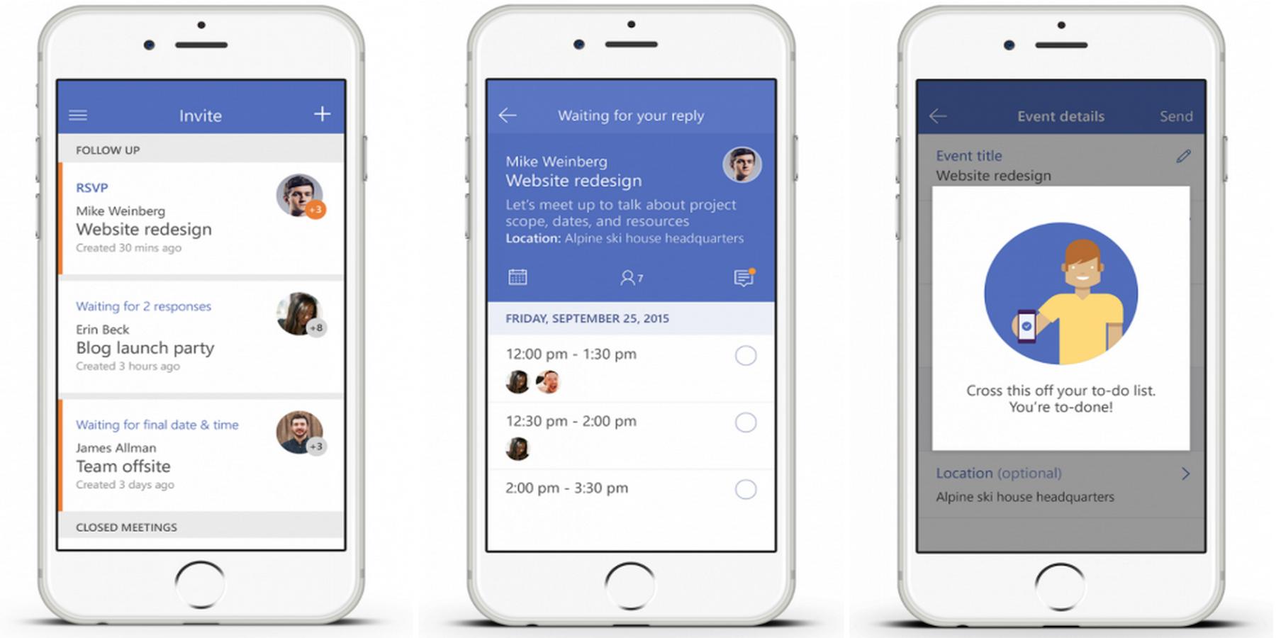 Microsoft-Invite-app
