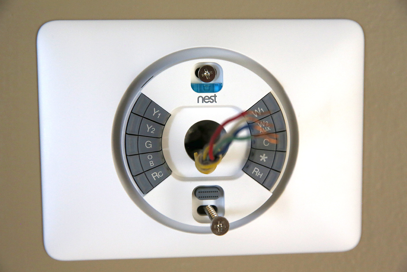 Nest Thermostat Wiring Harness Wire Center 2wire Review S 3rd Gen Learning Adds A Better Screen Rh 9to5mac Com Heat Pump Diagram