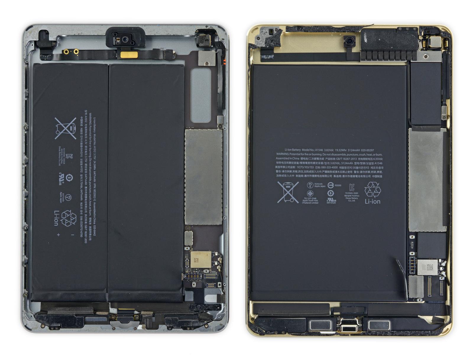 iPad mini 3 vs iPad mini 4