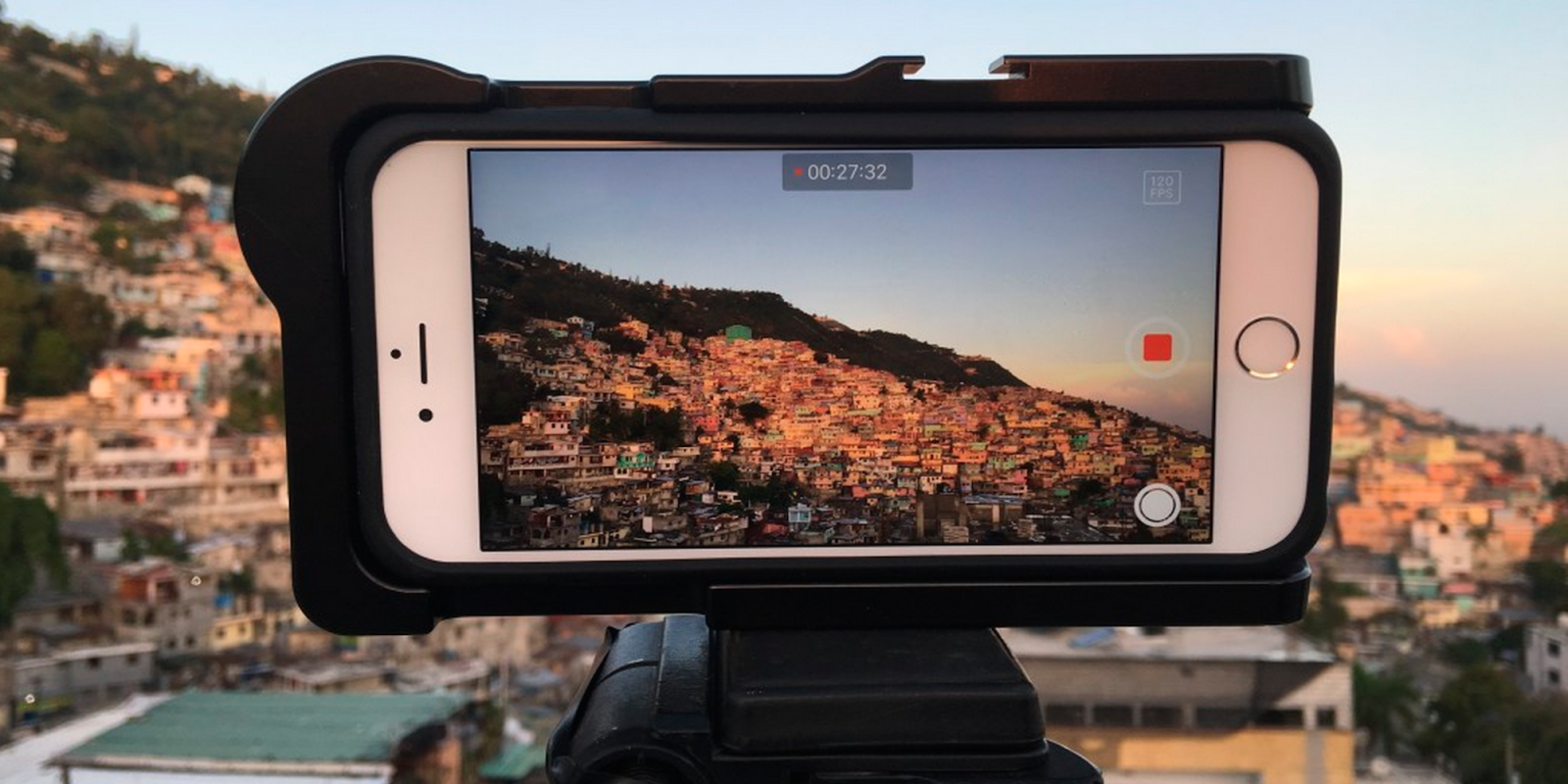 This documentary film was shot entirely in 4K on the new iPhone 6s Plus
