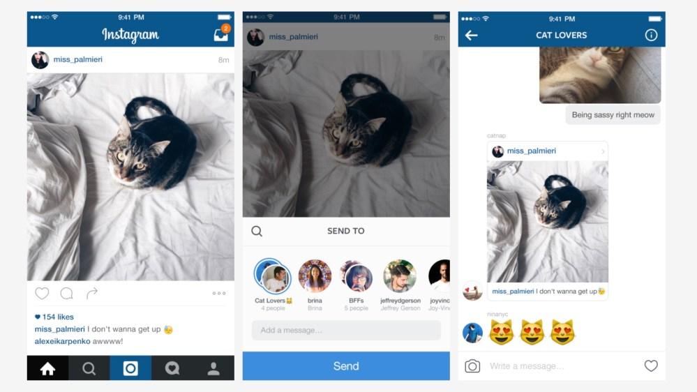 Instagram Direct update