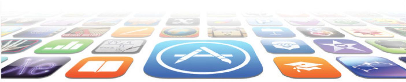 iOS App Store flat