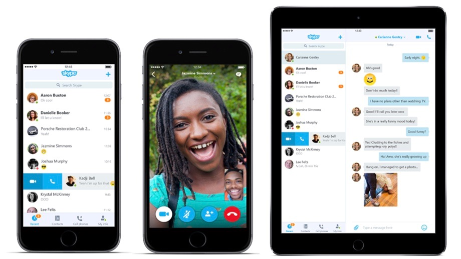 Skype 6 iPhone iPad 16-9