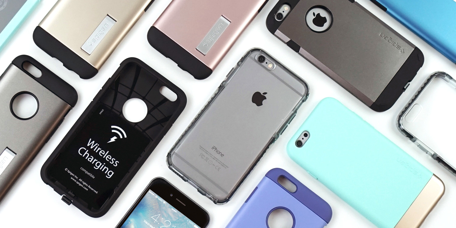 Spigen's newest iPhone 6s + 6s Plus cases start at $9.99, wireless charging case only $29.99