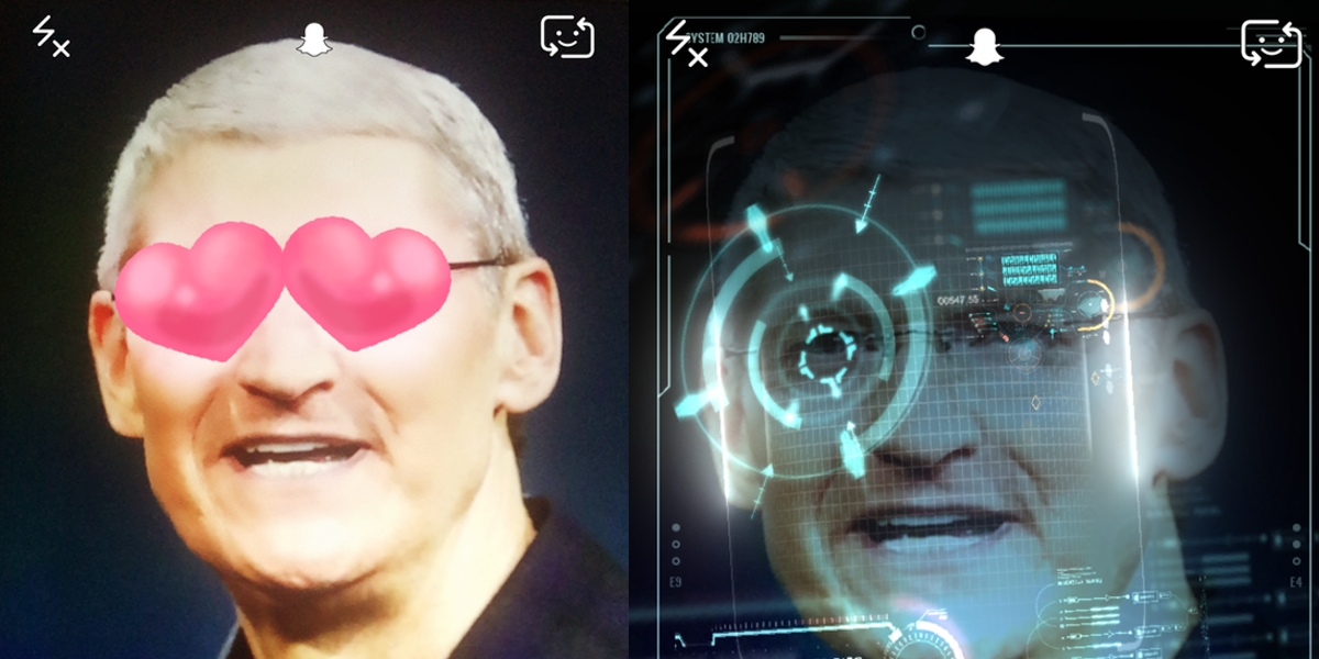 Tim Cook Snap