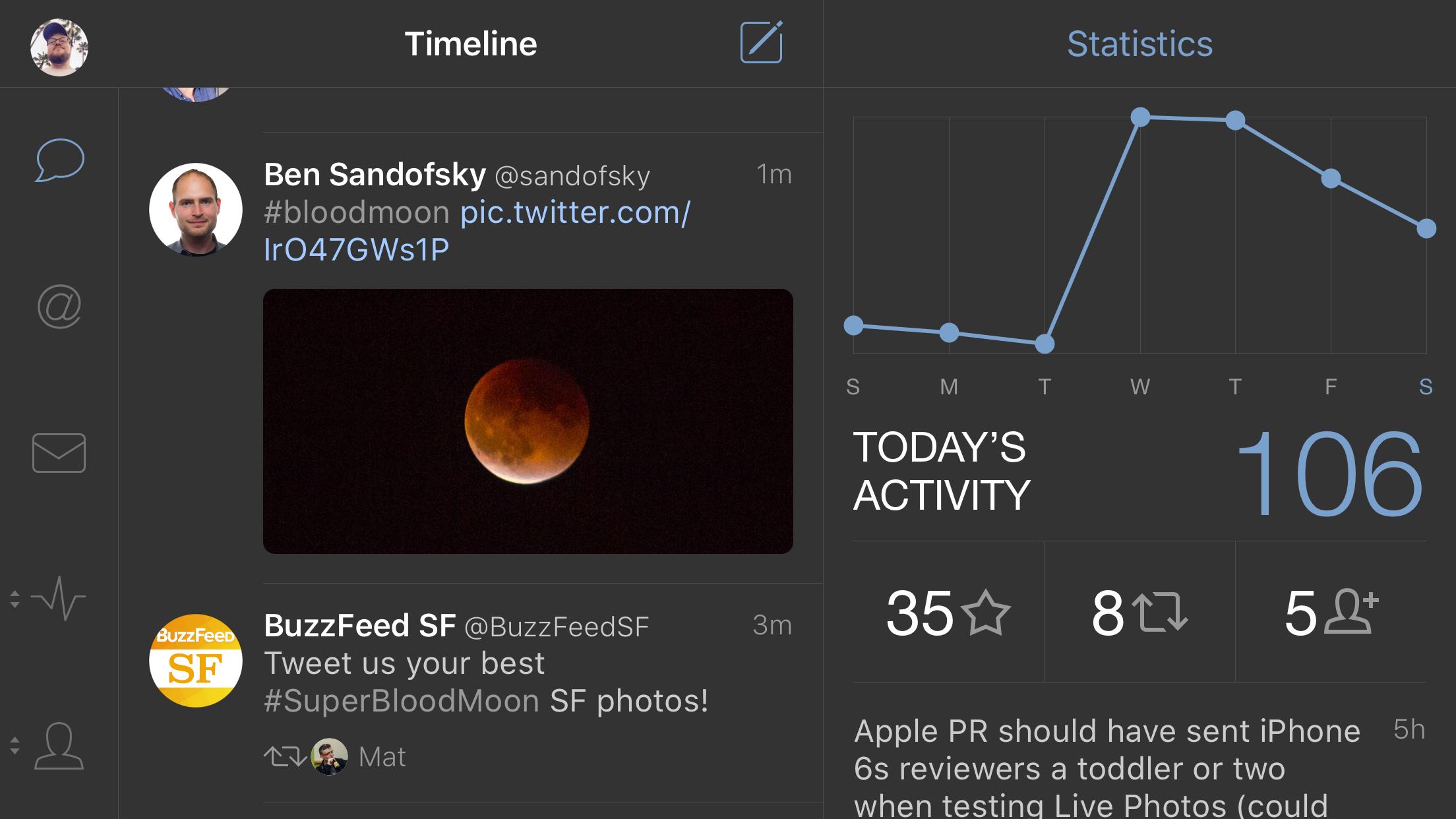 Tweetbot iPhone 6s Plus 5