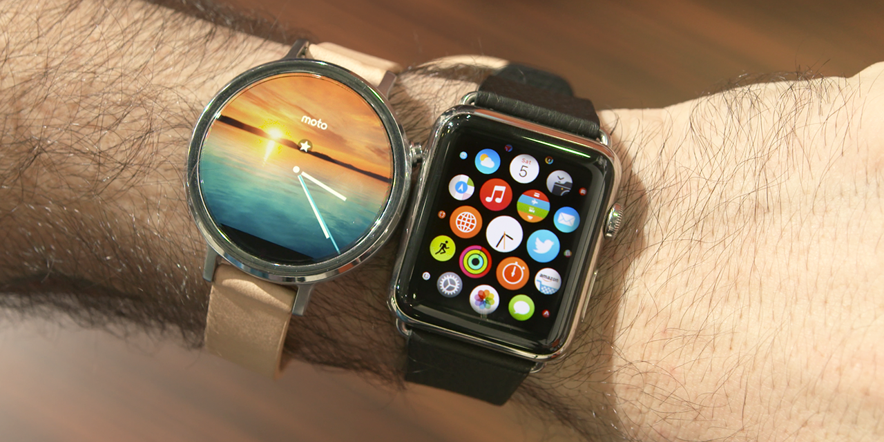 Apple Watch vs Moto 360 (2015): Which one should you buy ...