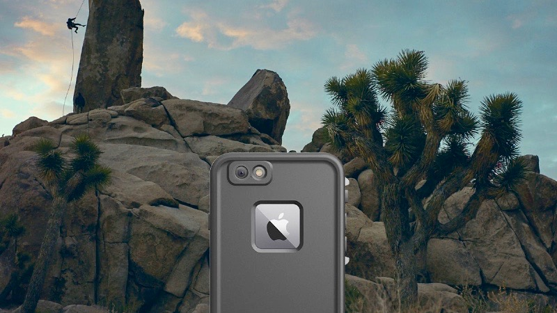 #LiveLifeProof with ultimate waterproof protection for the iPhone 6/6s, available now for preorder on www.lifeproof.com. (PRNewsFoto/LifeProof)